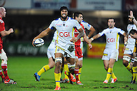 Sebastien VAHAAMAHINA - 14.12.2014 - Clermont / Munster - European Champions Cup <br /> Photo : Jean Paul Thomas / Icon Sport