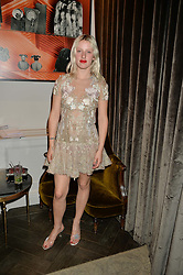 HARRIET VERNEY at the Creme de la Mer Blue Marine Foundation Dinner held at The Arts Club, 40 Dover Street, London on 23rd June 2015.