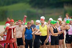 CHARLOTTESVILLE, VA - July 27, 2008 - The 2008 Charlottesville International Triathlon was held at Walnut Creek Park in Albemarle County near Charlottesville, Virginia, USA.