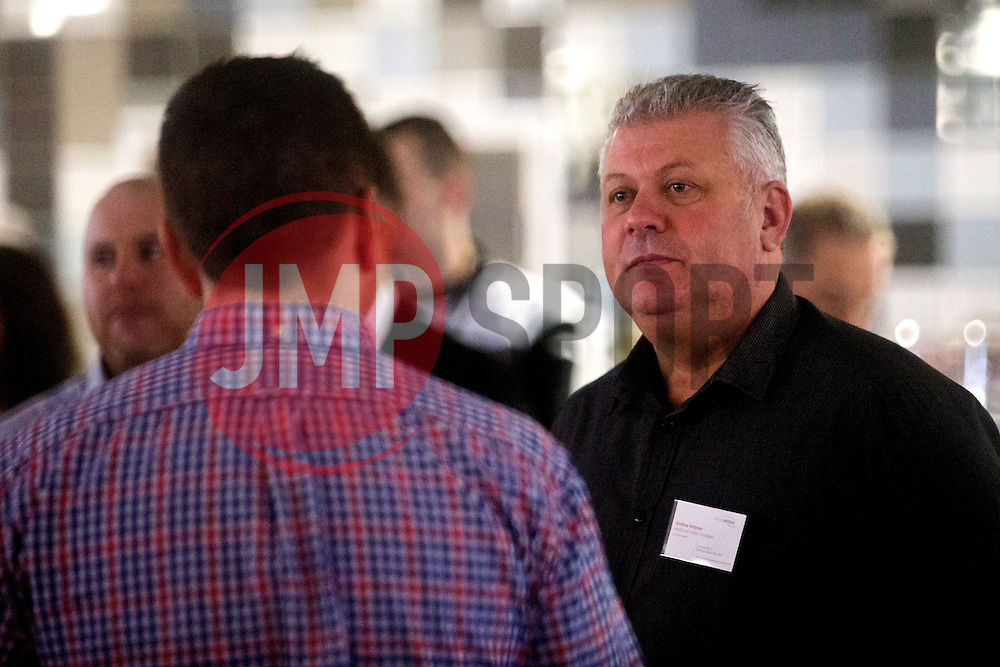 Guests mingle ahead of the talk by guest speaker Adrian Webster as Bristol Sport hosts their monthly networking breakfast event at Ashton Gate Stadium - Mandatory by-line: Robbie Stephenson/JMP - 16/12/2016 - SPORT - Ashton Gate Stadium - Bristol, England - Big Sports Breakfast December