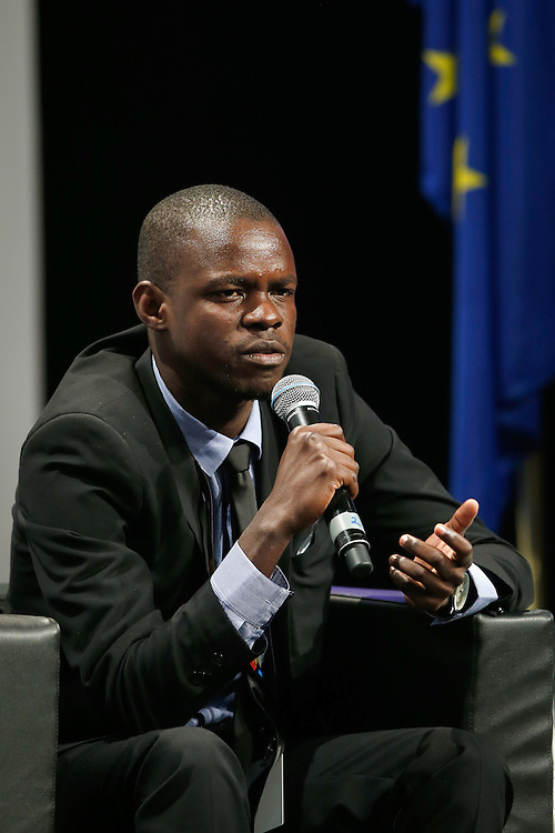 04 June 2015 - Belgium - Brussels - European Development Days - EDD - Migration - Migration is development - Making migration a driver for development - Birwe Habmo , Future Leader © European Union