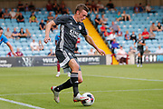 Jamie Vardy of Leicester City during the Pre-Season Friendly match between Scunthorpe United and Leicester City at Glanford Park, Scunthorpe, England on 16 July 2019.