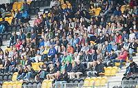 DEN BOSCH - HOCKEY -  publiek op de tribune. Landkampioenschap jeugd  tussen Pinoke JA1 -Kampong JA1 (2-1) . Pinoke kampioen. COPYRIGHT KOEN SUYK