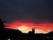 durham sunset england