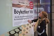 VW boycott protest, Berlin