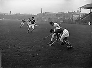 31/03/1957<br /> 03/31/1957<br /> 31 March 1957<br /> National Hurling League: Dublin v Cork at Croke Park, Dublin.