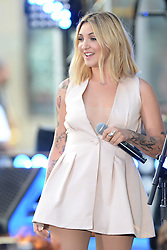 August 2, 2018 - New York, NY, USA - August 2, 2018 New York City..Julia Michaels performing on NBC's Today Show at Rockefeller Plaza on August 2, 2018 in New York City. (Credit Image: © Kristin Callahan/Ace Pictures via ZUMA Press)