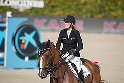 Meyer Janne Friederike, GER, Goya 27<br /> Furusiyya FEI Nations Cup Jumping Final - Barcelona 2016<br /> © Hippo Foto - Dirk Caremans<br /> 25/09/16