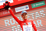 Podium, Rudy Molard (FRA - Groupama - FDJ) during the UCI World Tour, Tour of Spain (Vuelta) 2018, Stage 5, Granada - Roquetas de Mar 188,7 km in Spain, on August 29th, 2018 - Photo Luca Bettini / BettiniPhoto / ProSportsImages / DPPI