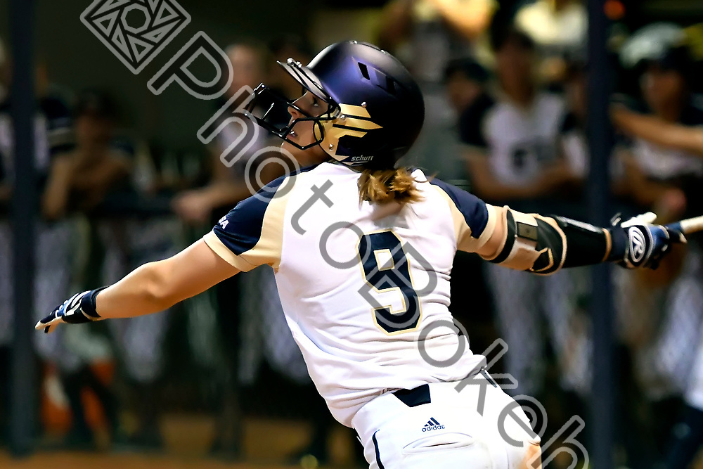 2018 February 09 - FIU's Jackie Schoff (9). Florida International University softball fell to Hofstra, 5-0, at Felsberg Field, Miami, Florida. (Photo by: Alex J. Hernandez / photobokeh.com) This image is copyright by PhotoBokeh.com and may not be reproduced or retransmitted without express written consent of PhotoBokeh.com. ©2018 PhotoBokeh.com - All Rights Reserved