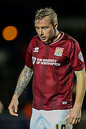 Nicky Adams of Northampton Town during the Sky Bet League 2 match at Sixfields Stadium, Northampton<br /> Picture by Andy Kearns/Focus Images Ltd 0781 864 4264<br /> 14/11/2015