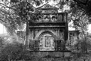 SRI LANKA. Abandoned House on the island of Kayts, Jaffna Peninsula.