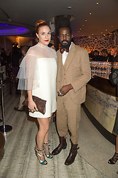 ROY LUWOLT and MARY ALICE MALONE at a party to celebrate the 10th anniversary of Nobu Berkeley Street held on 5th November 2015.