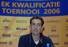 20060531 NED: Persconferentie Selectie EK Kwalificatie mannen, Rotterdam