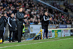 Bradford City Manager, Phil Parkinson - Photo mandatory by-line: Dougie Allward/JMP - Tel: Mobile: 07966 386802 11/01/2014 - SPORT - FOOTBALL - Coral Windows Stadium - Bradford - Bradford City v Bristol City - Sky Bet League One