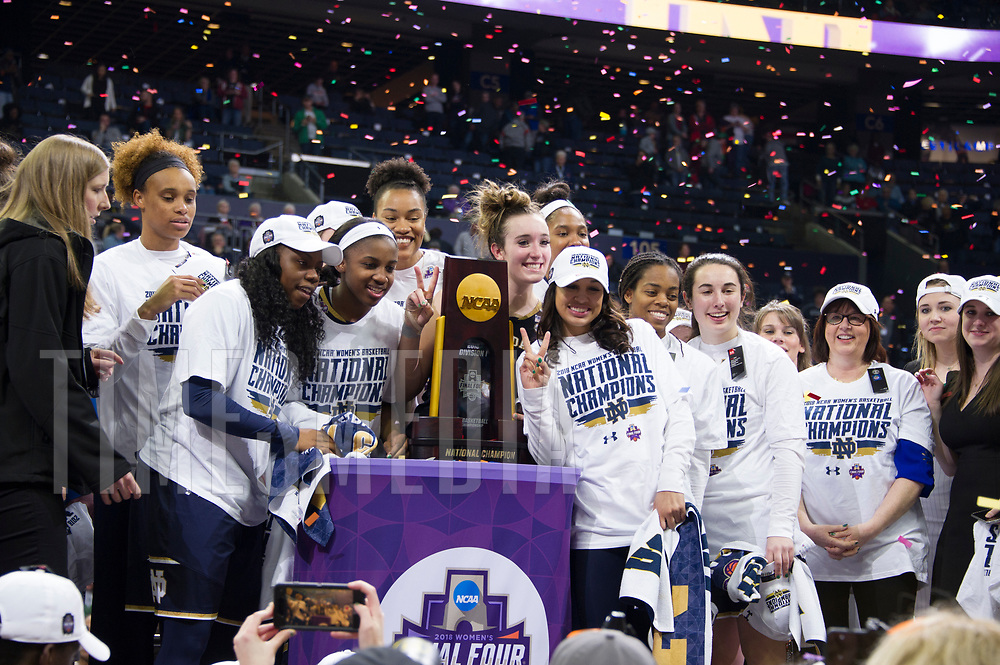 2018 NCAA Division 1 Women's Basketball  National Championship,  Notre Dame vs.Mississippi St.