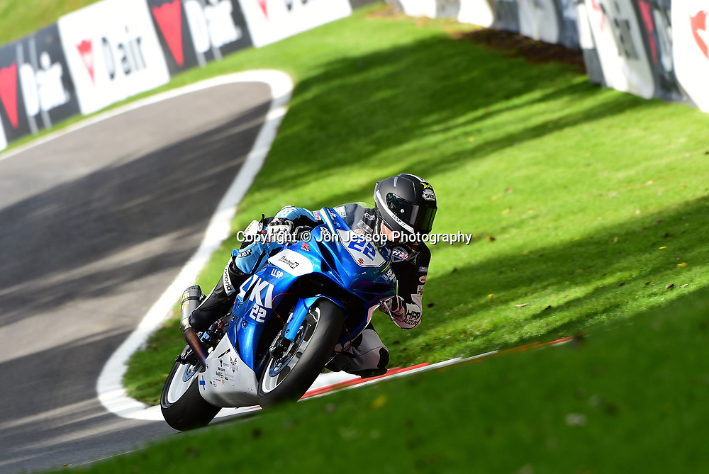 #22 Eemeli Lahti 777RR HRP Suzuki Dickies British Supersport Championship