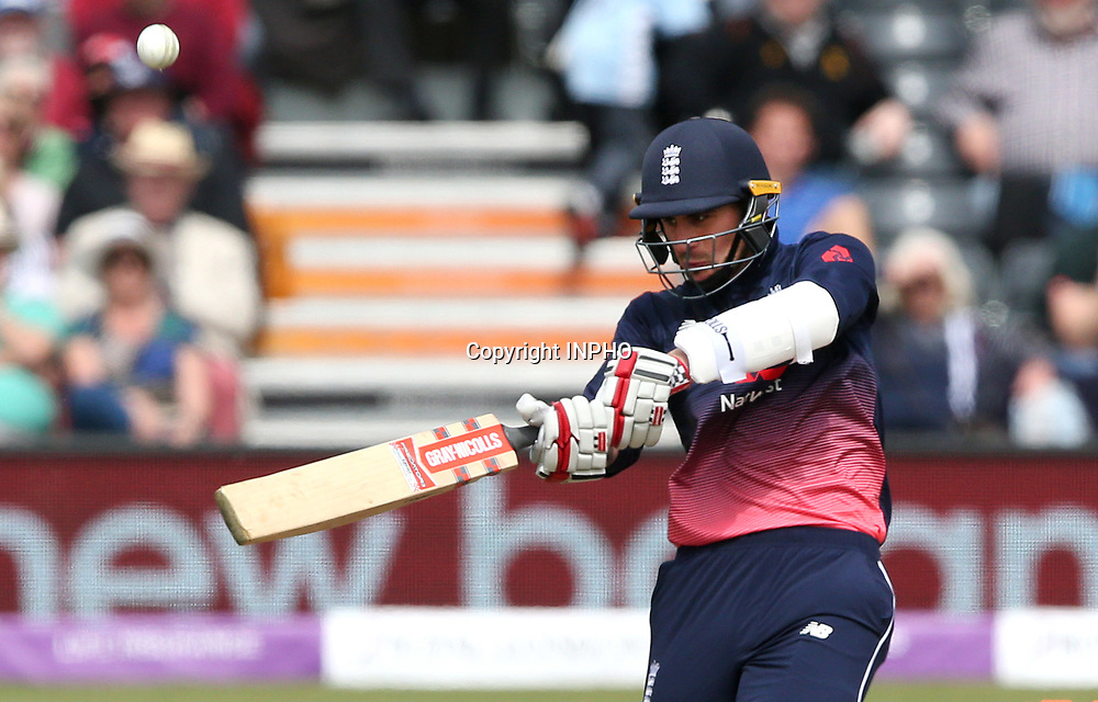 1st One Day International, Bristol Cricket Ground, England 5/5/2017<br /> England vs Ireland<br /> England's Alex Hales<br /> Mandatory Credit &copy;INPHO/Andrew Fosker