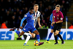 Ahmed Musa of Leicester City passes the ball - Mandatory by-line: Robbie Stephenson/JMP - 06/11/2016 - FOOTBALL - King Power Stadium - Leicester, England - Leicester City v West Bromwich Albion - Premier League