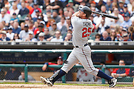 April 29, 2010:  Minnesota Twins' Jim Thome (25) during the MLB baseball game between the Minnesota Twins vs Detroit Tigers at  Comerica Park in Detroit, Michigan. Tigers defeated the Twins 3-0.