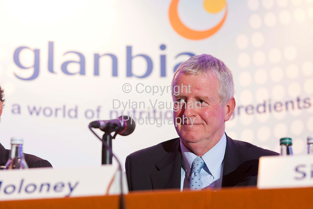 11/5/2011.John Moloney Group Managing Director pictured at the Glanbia plc AGM at the Lyrath Estate Hotel in Kilkenny yesterday..Picture Dylan Vaughan.