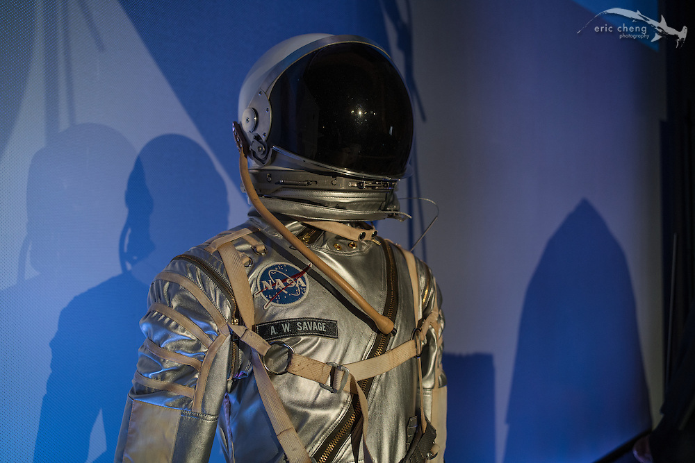 Adam Savage's space suit. Tested.com live show, Oct 23, 2015, Castro Theater, San Francisco.