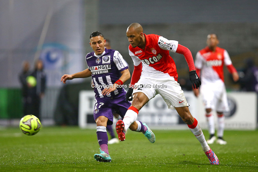 Fabinho - 05.12.2014 - Toulouse / Monaco - 17e journee Ligue 1<br />