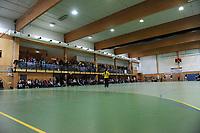 Illustrasjonsfoto Arena Glassverket idrettshall, Glassverkethallen. Publikum, tilskuere tribune Håndball NM J20 2012, Junior-NM 2012. Glassverket - Nordstrand 31-30. 6. november 2012. Foto: Peter Tubaas - Digitalsport