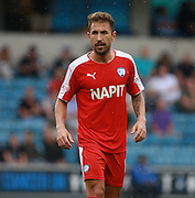 Chesterfield player Angel Martinez during the Sky Bet League 1 match between Millwall and Chesterfield at The Den, London, England on 29 August 2015. Photo by Bennett Dean.