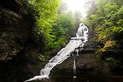 "Dingmans Falls in Pennsylvania ""Cascading From Heaven"""