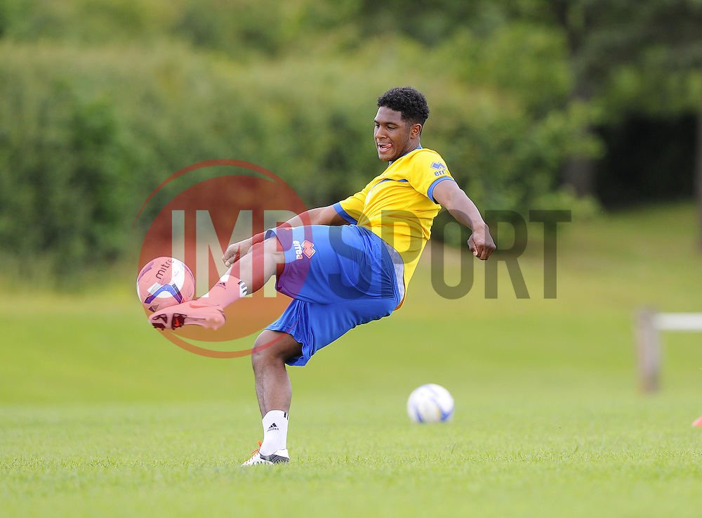 Bristol Rovers' Ellis Harrison - Photo mandatory by-line: Joe Meredith/JMP - Tel: Mobile: 07966 386802 24/06/2013 - SPORT - FOOTBALL - Bristol -  Bristol Rovers - Pre Season Training - Npower League Two