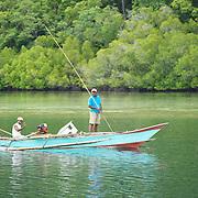 Fisherman in Raja-Ampat.