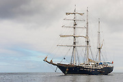 Yacht S/V Mary Anne<br /> GALAPAGOS ISLANDS,<br /> Ecuador, South America<br /> Tourist yacht<br /> Square rigged Barquentine