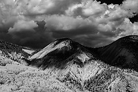 LIttle Red Mountain (11,601 ft) and Alum Creek watershed; San Juan Mountain Range, CO