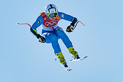 17.02.2018, Jeongseon Alpine Centre, Jeongseon, KOR, PyeongChang 2018, Ski Alpin, Damen, Super G, im Bild Johanna Schnarf (ITA) // Johanna Schnarf of Italy in action during ladie's SuperG of the Pyeongchang 2018 Winter Olympic Games at the Jeongseon Alpine Centre in Jeongseon, South Korea on 2018/02/17. EXPA Pictures © 2018, PhotoCredit: EXPA/ Johann Groder