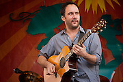 Dave Matthews performing on the main Acura Stage at the New Orleans Jazz and Heritage Festival at the New Orleans Fair Grounds Race Course in New Orleans, Louisiana, USA, 26 April 2009.