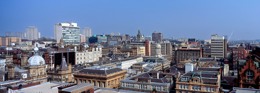 Glasgow City Centre Skyline