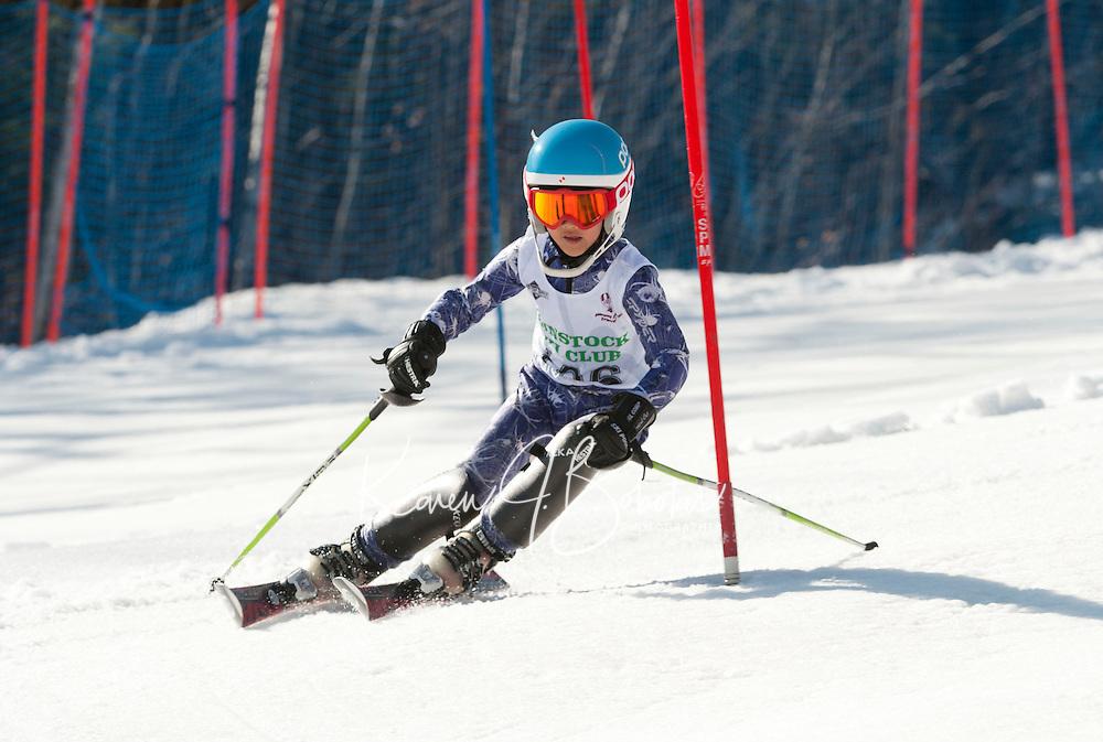 Francis Piche Invitational J5 Slalom March 18, 2012.