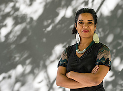 Pictured: Olúmìdé Pópóọlá<br /> <br /> <br /> <br /> Olúmìdé Pópóọlá is a London-based Nigerian-German writer, speaker and performer. Her latest novel When We Speak of Nothing was published in July 2017, by Cassava Republic Press.