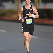 Brandon Nix participates in Race 13.1 Sunday February 22, 2015 in Wilmington, N.C. (Jason A. Frizzelle)