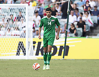 Fotball<br /> Asia Cup / Asiamesterskapet<br /> 23.01.2015<br /> Iran v Irak<br /> Kvartfinale<br /> Foto: imago/Digitalsport<br /> NORWAY ONLY<br /> <br /> Salam Shakir (14) of Iraq in the FIFA Asian Football Confederation 2015 Asian Cup quarter-final game played in Canberra Stadium, Canberra, Australia