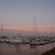 Boats in Marina. Channel Islands Marina. Ventura, CA.