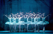 Swan Lake <br /> Bolshoi Ballet <br /> at The Royal Opera House, Covent Garden, London, Great Britain <br /> press photocall / rehearsal <br /> 29th July 2016 <br /> <br /> Swans <br /> <br /> <br /> <br /> Photograph by Elliott Franks <br /> Image licensed to Elliott Franks Photography Services