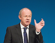 Conservative Party Conference, ICC, Birmingham, Great Britain <br /> Day 3<br /> 9th October 2012 <br /> <br /> Rt Hon Damian Green MP <br /> Minister for Policing  <br /> <br /> <br /> Photograph by Elliott Franks<br /> <br /> United Kingdom<br /> Tel 07802 537 220 <br /> elliott@elliottfranks.com<br /> <br /> ©2012 Elliott Franks<br /> Agency space rates apply