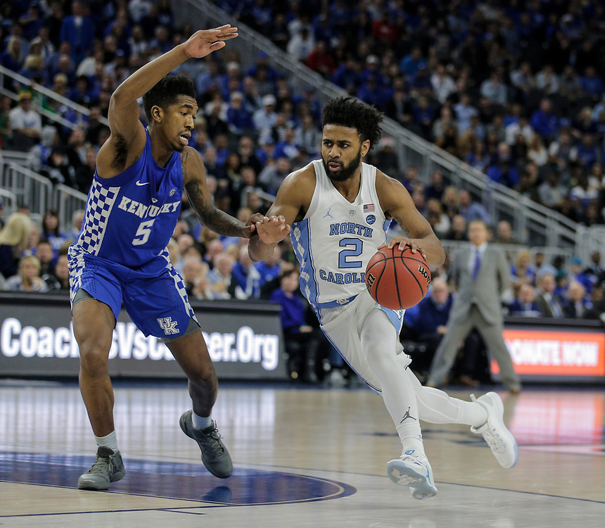 Dec 17, 2016  Las Vegas, NV : North Carolina guard Joel Berry II (2) game stats scored 23 points , 7 assist and 3 steals  during the CBS Sports Classic between North Carolina Tar Heels and the Kentucky Wildcats 100-103 lost at T-Moble Arena  Las Vegas, NV.  Thurman James / CSM