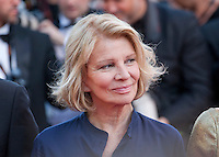 Director Nicole Garcia at the gala screening for the film Mal De Pierres (From the Land of the Moon) at the 69th Cannes Film Festival, Sunday 15th May 2016, Cannes, France. Photography: Doreen Kennedy