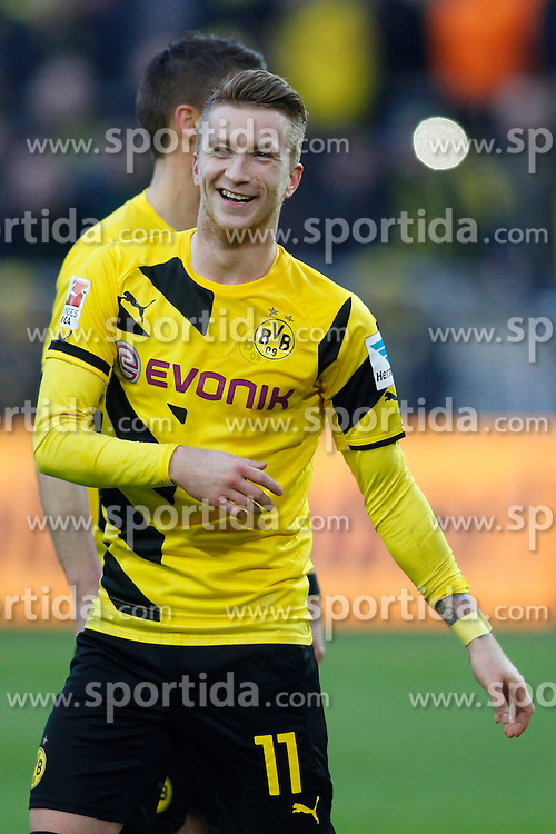 28.02.2015, Signal Iduna Park, Dortmund, GER, 1. FBL, Borussia Dortmund vs FC Schalke 04, 23. Runde, im Bild Marco Reus (Borussia Dortmund #11) // during the German Bundesliga 2rd round match between Borussia Dortmund and FC Schalke 04 at the Signal Iduna Park in Dortmund, Germany on 2015/02/28. EXPA Pictures &copy; 2015, PhotoCredit: EXPA/ Eibner-Pressefoto/ EXPA/ PIXSELL/ Sch&uuml;ler-<br /> <br /> *****ATTENTION - OUT of GER*****
