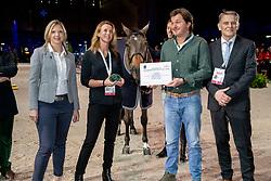 Brandtner Nadine, Everse Mario, Everse Mischa, NED, breeders of Zinius, Smolders Harrie<br /> CHI Genève 2018<br /> © Hippo Foto - Dirk Caremans<br /> 08/12/2018