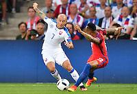 2016.06.20 Saint-Etienne<br /> Pilka nozna Euro 2016<br /> mecz grupy C Slowacja - Anglia<br /> N/z Vladimir Weiss<br /> Foto Lukasz Laskowski / PressFocus<br /> <br /> 2016.06.20 Saint-Etienne<br /> Football UEFA Euro 2016 group C game between Slovaki and England<br /> Vladimir Weiss<br /> Credit: Lukasz Laskowski / PressFocus