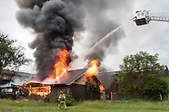 Fire at the former Middletown Psychiatric Center